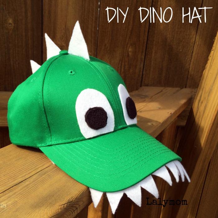 Diy dinosaur hat fun crafts kids for Craft hats for kids