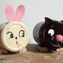 Jar Crafts: String Holders