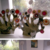 Kandinsky tree craft
