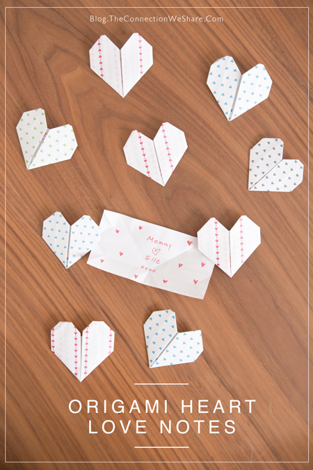 Origami Heart Love Notes