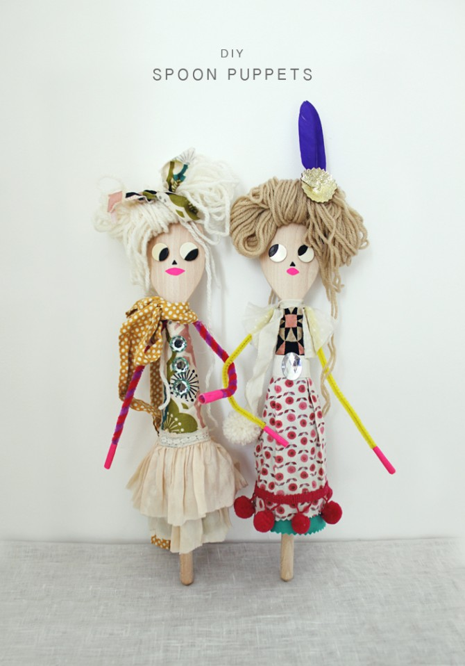 Stunning Spoon Dolls