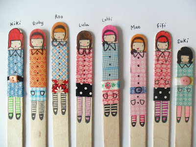 Craft Stick Dolls