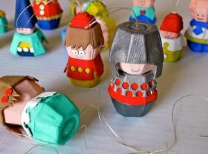 egg carton crafts people
