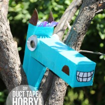 Cardboard Box & Duct Tape Hobby Horse