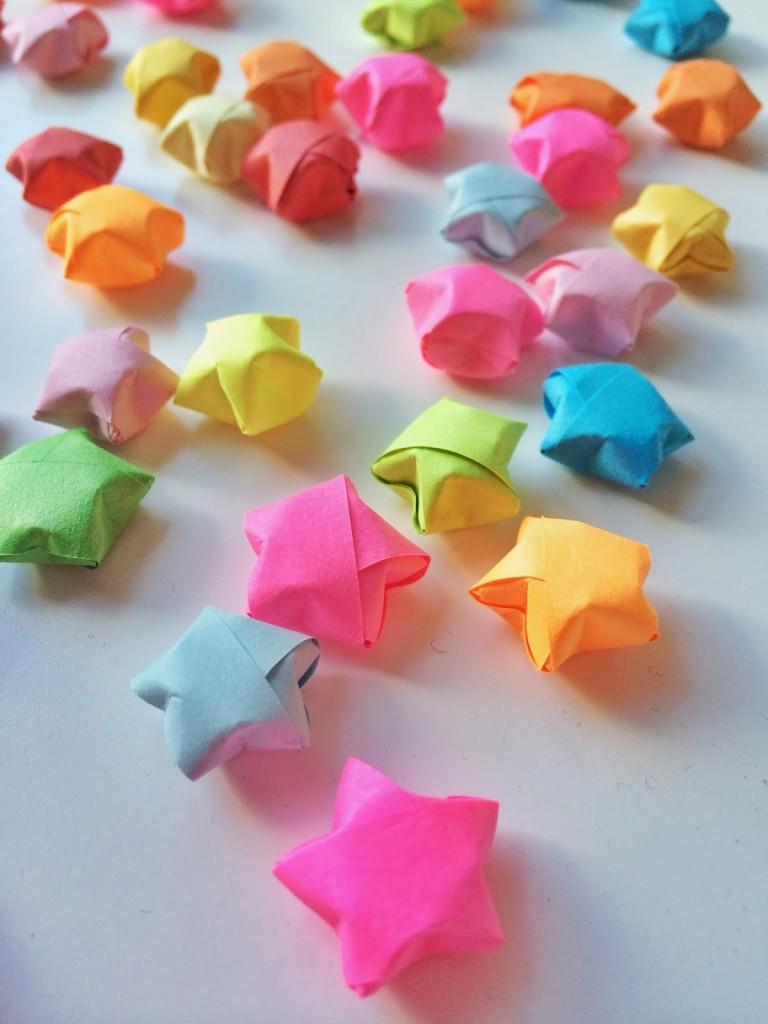 origami lucky stars craft