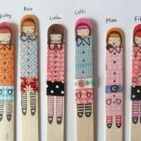 washi tape puppets