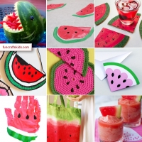 10 fabulous water melon crafts