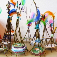 Weaving Craft Tipi