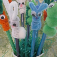 Bunny Pencil Topper DIY