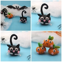 Cute Chestnut Halloween DIY
