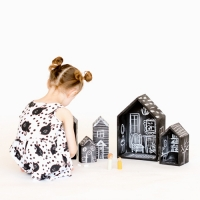 Chalkboard Dolls House DIY