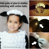 DIY Sheep Costume