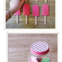 DIY Popsicle Memory Game