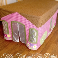 DIY Table Cloth House