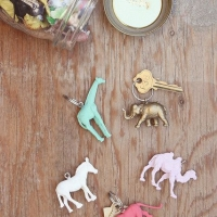 DIY Animal Keychains