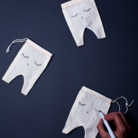 DIY Tooth fairy bag