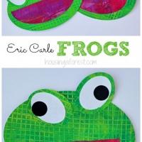 Eric Carle Frog Craft