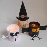 Cute Halloween Paper Lanterns