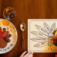 Thanks Giving Placemat Printable