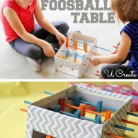 Miniature table football