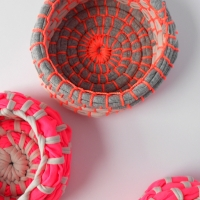 Fabric Coil Bowls