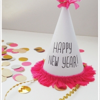 New Year's Eve Crafts - Party Hats