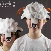 Sheep Mask Craft