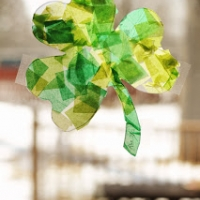 Shamrock Sun Catchers