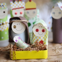 TP Roll Nativity Craft
