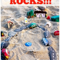 DIY Stone Crafts: Make a Road & Cars