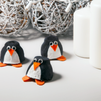 Egg Carton Crafts - Penguins