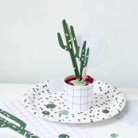 Printable Cactus Party Cake Topper