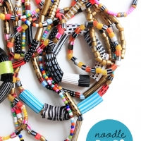 Glam Pasta Shell Necklaces with a Twist