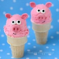 Summer Treats - Fun Food For Kids - Piggy Ice Cream