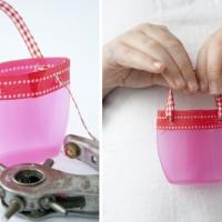 Shampoo Bottle Crafts - Mini Handbags