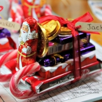 DIY Chocolate Sleigh - Stocking Fillers!
