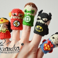 DIY Superhero Finger Puppet Pattern