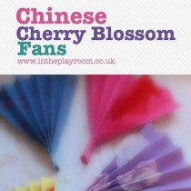 Chinese New Year: Chinese Cherry Blossom Fans