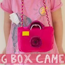 Recycled Egg Carton Crafts: Camera