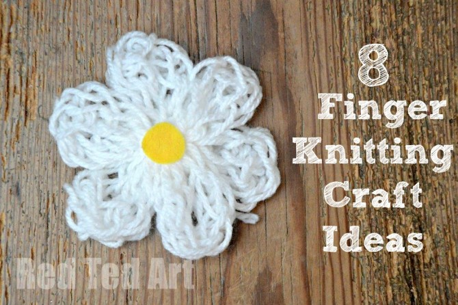 Finger Knitting How To Fun Crafts Kids