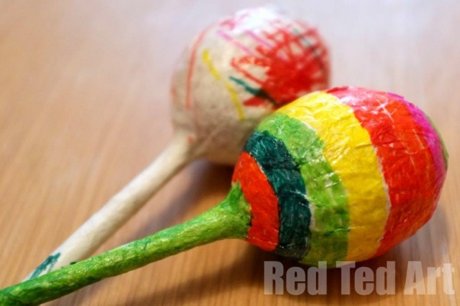 DIY Music Crafts: Maracas