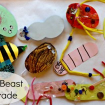 Mini Beasts Crafts for Preschoolers