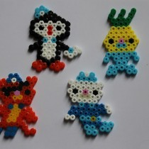 Perler Bead Crafts: Octonauts