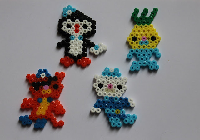 Perler bead crafts octonauts fun crafts kids for Bead craft ideas for kids