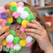 Spring Crafts: Wreath for Kids