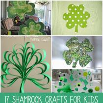 Shamrock Crafts for Kids