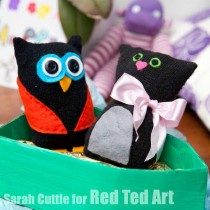 Recycled Crafts: Glove Puppets