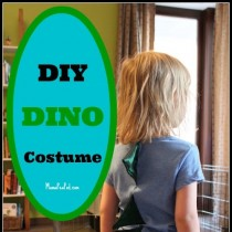 Make your own Dinosaur Costume