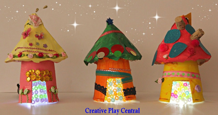 fairy crafts mini recycled houses fun crafts kids