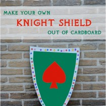 Kid's costumes – Knight's Shield